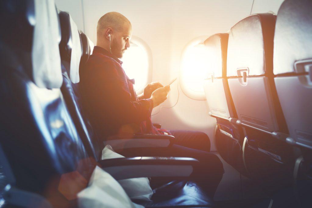 飛行機乗り方