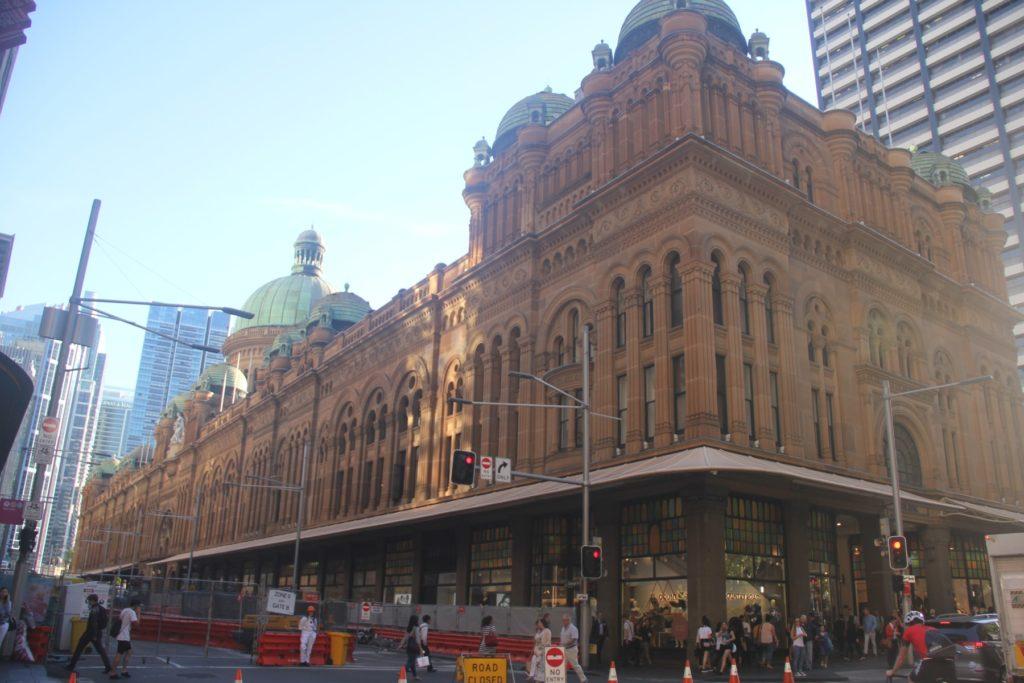 シドニー観光 QVB