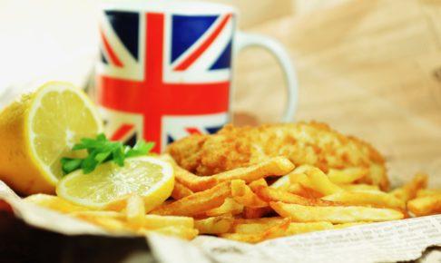 イギリス旅行料理