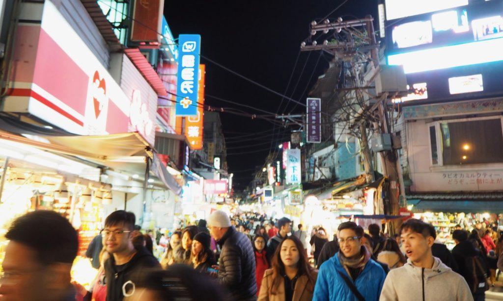 台湾 土林夜市