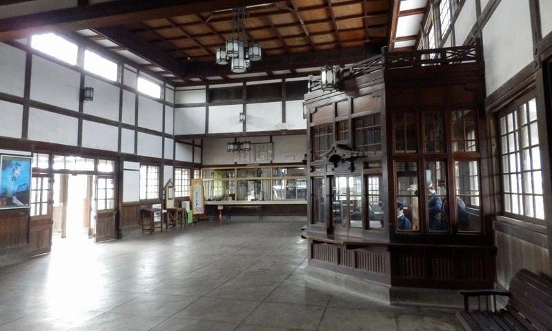旧大社駅構内