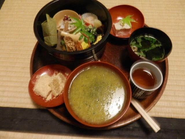 奈良 グルメ 茶粥