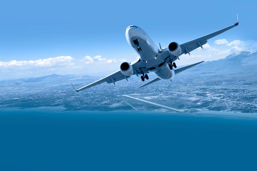 飛行機の乗り方