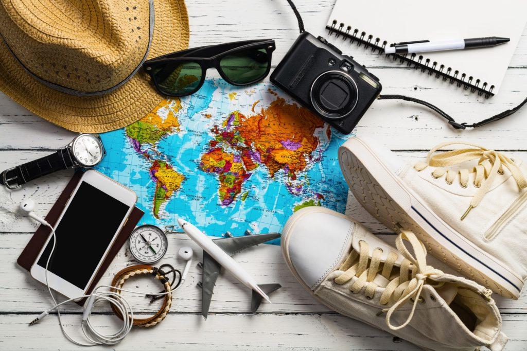 旅行ひとりアイテム