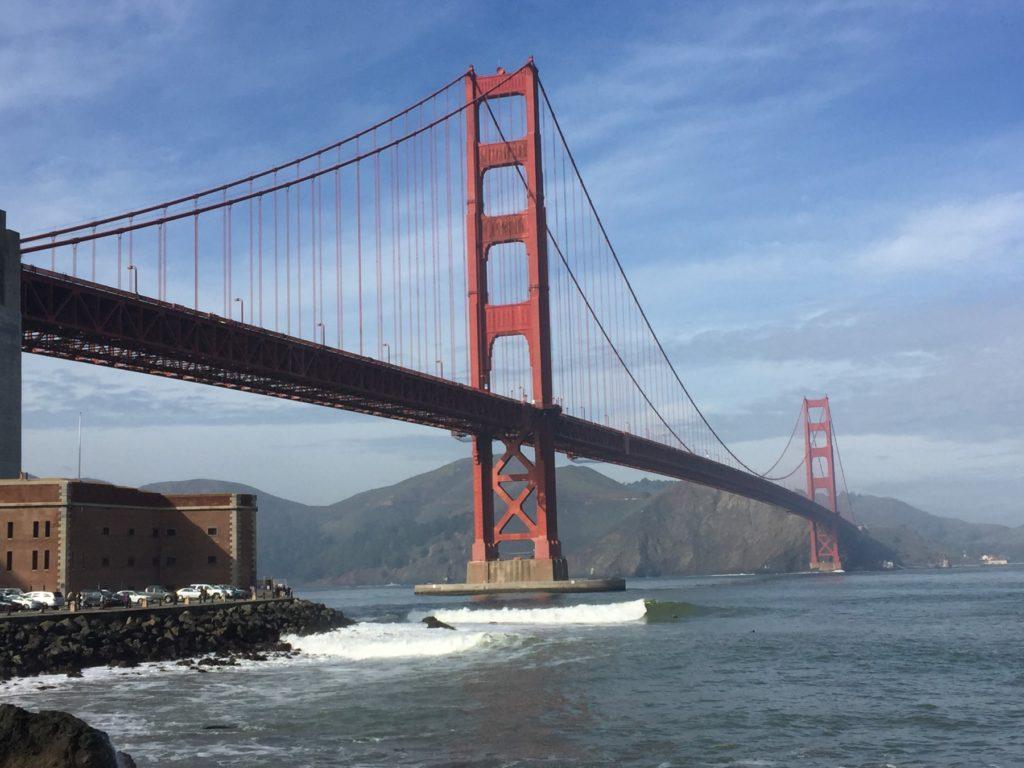 サンフランシスコ 観光 ゴールデンゲート ブリッジ