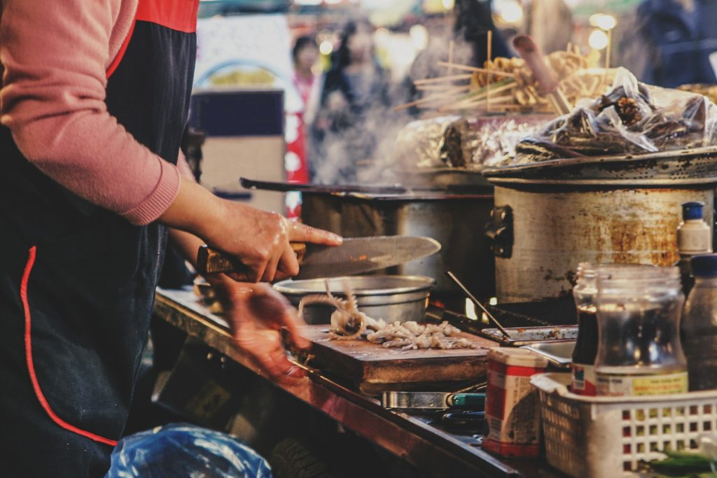 韓国 文化 食