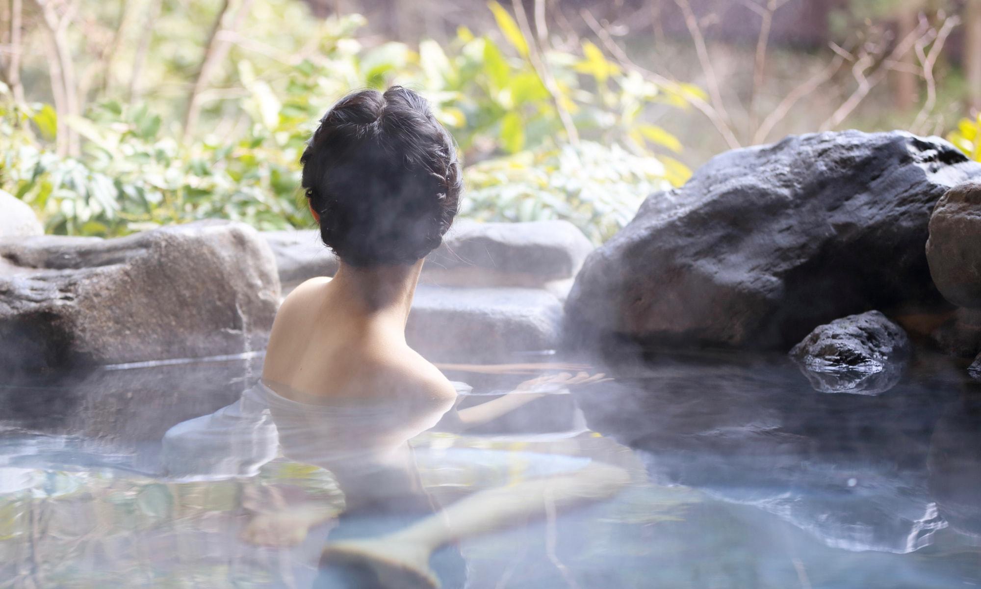 温泉 入り方