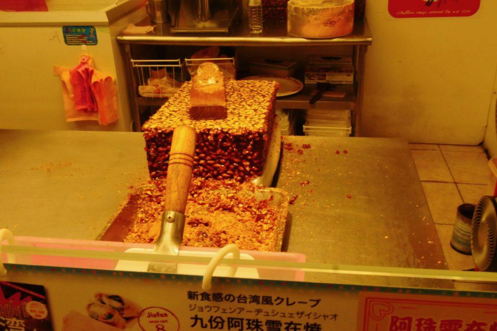 台湾、九份 食事