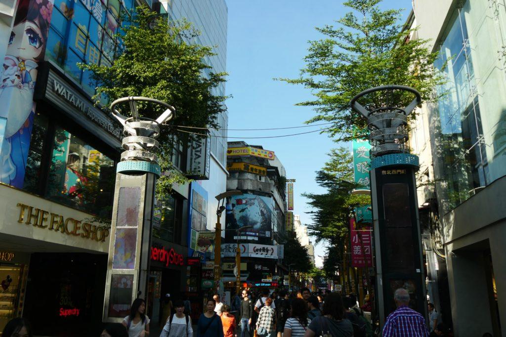 台湾西門町
