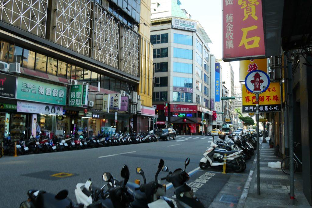 台湾西門町 様子