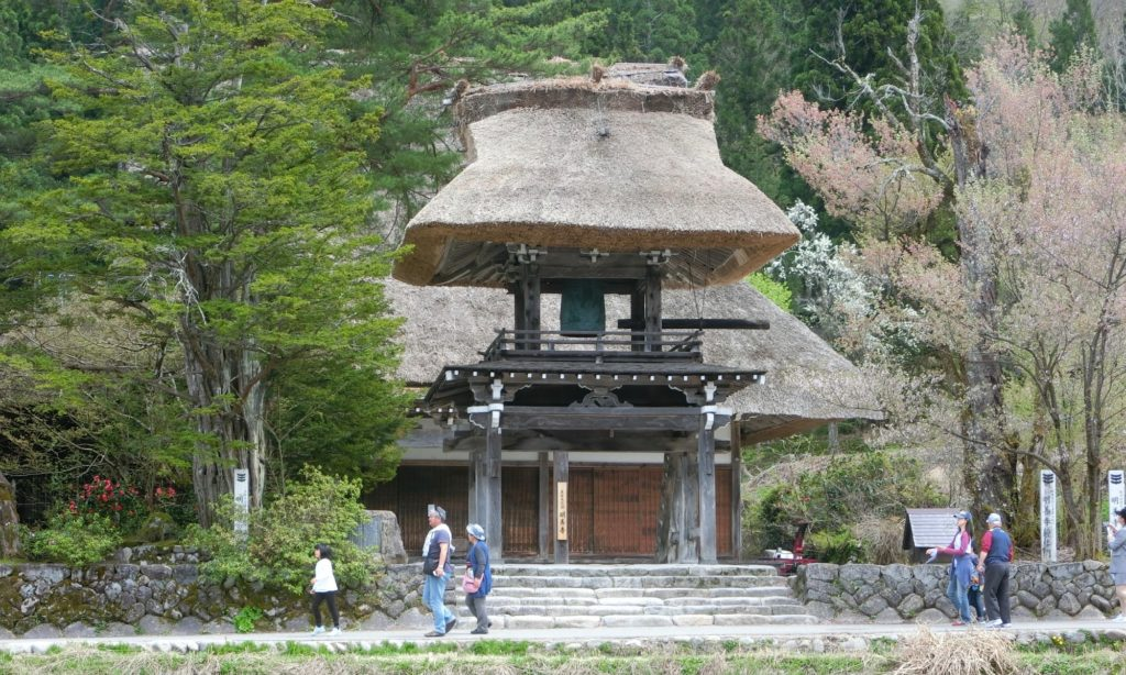 白川郷明善寺