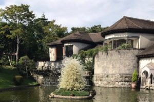 箱根のガラス森美術館