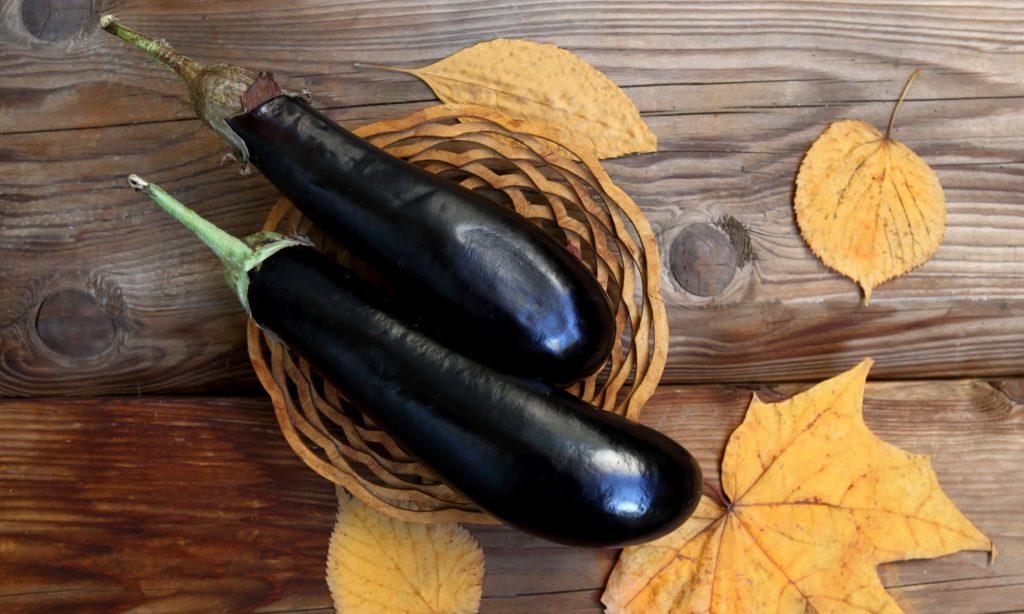 秋の食べ物 ナス